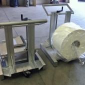 Chariot de manutention pour bobines